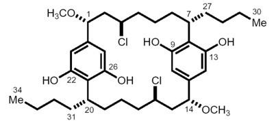 Związki halogenoorganiczne występujące w przyrodzie